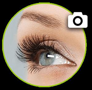 LASHES & HAIR::Schwung, Fülle, Farbe und Pflege durch Wimpernlaminierung